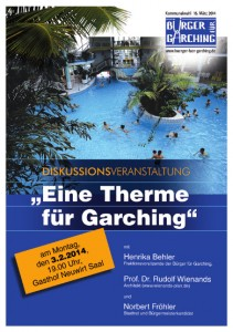 BfG-Plakat 2014 - DISKUSSION - THERME -