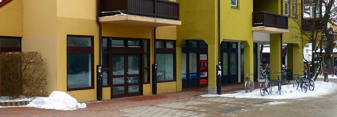 Leere Läden Ortszentrum