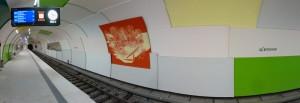 U-Bahn-Haltestelle Garching